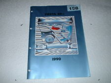 FORD FIESTA 1989 BODY & CRASH PARTS QUICK REFERENCE CATALOGUE.