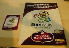 Panini Euro 2012 Holland only edition * Empty Album + sealed packet* MINT