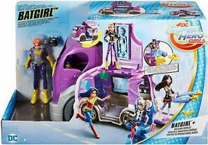 DC Super Hero Girls - Batgirl Mission Vehicle - DC Comics Headquarters Truck