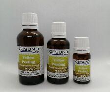 Yellow Peeling Retinol - Glycolic peeling 25%, (pH 2.5), 10ml, 30ml or 50ml acid