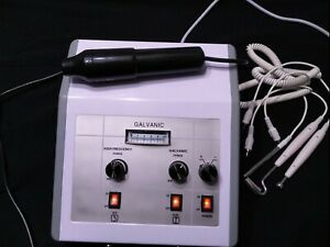 2 in 1 Facial Machine Galvanic High Frequency Beauty Spa Salon Equipment (Parts)