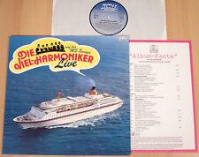 """DIE VIEL-HARMONIKER - Live auf der MS """"EUROPA"""" (GLOBAL 1983 + PROMO / NEUWERTIG)"""