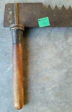 "Old Crosscut Saw 2 Handles Primitive Decor Vintage Farm Tool Two Man Logging 72"""