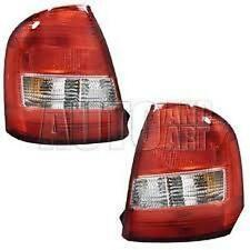 Fits 99-03 Mazda Protege EXC Mazda Speed Left & Right Tail Lamp / Light - Set