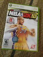 NBA 2K10 - Xbox 360 Game Kobe Bryant