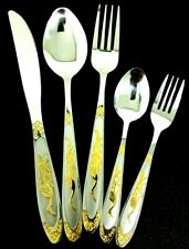 Stainless Steel Stylish Cutlery sets In Chrome  Stylish Designs 5 to 30pcs G P