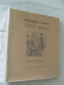 MARTIN MILLS 'OLYMPIC GAMES' 4 RING STAMP ALBUM & MINT HEADED PAGES