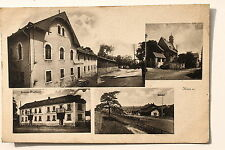 19723 AK Köditz bei Hof Häuser Bahnhof 1922 Oberfranken