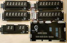 Williams System 11/11A D-10877 DIY Display kit - Wolffpac - Orange digits
