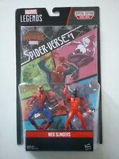 Marvel Legends Serie Web Slingers 2pack Spiderman Scarlet NEW  3.75 inch scale