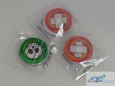 set of 3 Poison Burned acrylic counters markers for Pokemon TCG CARDS sealed NEW