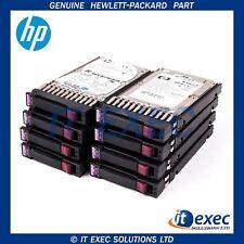 """X8 HP 2.5"""" 15k 146Gb Dual Port SAS Drives Spare 504334-001 504062-B21 incl Caddy"""