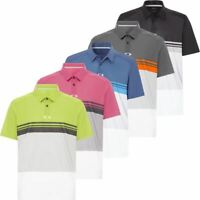 OAKLEY O-HYDROLIX COLOUR BLOCK TAKE POLO SHORT SLEEVE MENS GOLF POLO SHIRTS