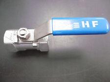 """HF Edelstahl Absperrventil Absperrhahn Kugelhahn 3/4"""" CF8M 800WOG NEU"""