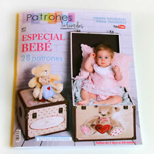 SEWING Pattern MAGAZINE book Baby special 2018 girl boy spanish kids fashion NEW