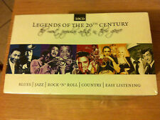 COFANETTO 10 CD      LEGENDS  Of THE 20 te CENTURY        NEW