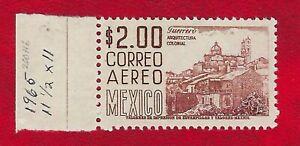 Mexico **NH C220Hi 2 pesos Perf 11.5X11 Scott $150.00