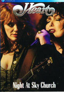 Heart: Night At Sky Church (DVD) New & Sealed