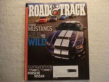 Road & Track April 2009 Mustangs Nissan 370Z Ford KA Toyota Lexus RX Morgan