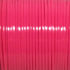 100 YARDS (91m) SPOOL NEON MAGENTA REXLACE PLASTIC LACING CRAFTS CYBERLOX