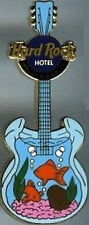 Hard Rock Hotel HOLLYWOOD FL 2004 AQUARIUM GUITAR PIN Fish - HRC Catalog #22870