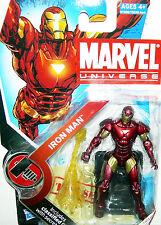 IRON MAN • MARVEL UNIVERSE • C8-9 MOC • SERIES 002 HASBRO