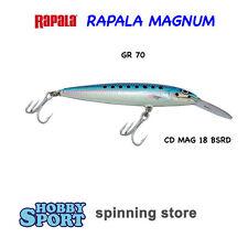 RAPALA MAGNUM CD MAG 18 BSRD BLUE SARDINE  70 GRAMMI  ORIGINALE