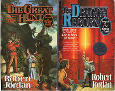 Complete Set Series - Lot of 16 Wheel of Time Fantasy Books by Robert Jordan
