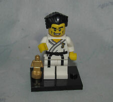 Lego Series 2 Karate Master Figure Complete, Loose - Trophy, Stand