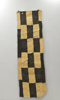 African Kuba Cloth Natural Woven Raffia Congo Table Runner