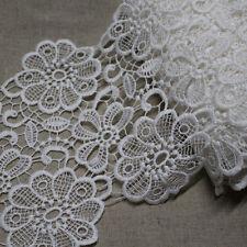 *Bargain sale* Broderie Anglaise guipure lace trim 8cm  Promotin1 laceking2013
