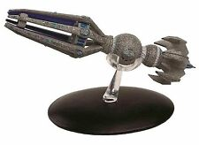 Eaglemoss Diecast Star Trek Krenim Temporal Weapon Ship #22 with Magazine