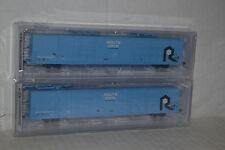 Bluford Shops 87222 Route Rock 86' Auto Parts Quad Door Box Car 2-pack N scale