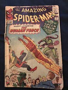 AMAZING SPIDER-MAN #17 (1964) KEY ISSUE: 2nd Green Goblin - Low Grade Reader