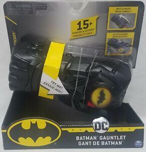 DC Batman Gauntlet 15+ Phrases & Sounds New