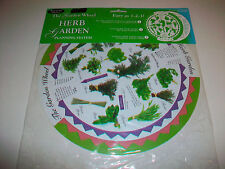 Unopened The Garden Wheel Herb Garden Planning System waterproof plastic