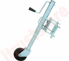 1000LB CAPACITY SWING BACK TRAILER LIFT JACK TONGUE STAND FOR BOAT TRAILER WHEEL