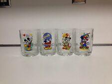Walt Disney Mickey Mouse Glasses 2000 Mcdonalds Millenium Collectible Square