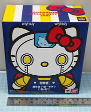 Sanrio Hello Kitty Robot Chogokin Diecast Figure BLUE Color - Bandai     ^_^