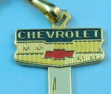 Chevrolet Gold Plated Bowtie Crest 1967 1971 1975 1979 1983 1984 1985 Key Blank