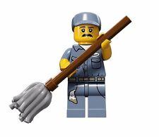 NUEVO LEGO MINIFIGURA SERIE S 15 71011 - CONSERJE