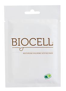 Biocell Moisturising Hyaluronic Acid Face Sheet Mask (Veg) skin glow moisturise