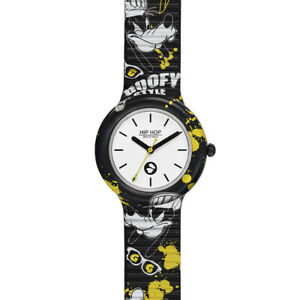 Orologio Hip Hop MICKEY AND FRIENDS DISNEY PIPPO GOOFY HWU1044 Silicone 35 mm