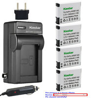 Kastar Battery AC Charger for AHDBT 001 AHDBT 002 & Gopro HD Helmet HERO