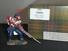 KING AND COUNTRY CR07 CRIMEA BRITISH INFANTRY LOADING RIFLE METAL TOY SOLDIER