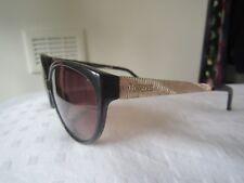 WOMEN'S MISSONI SUNGLASSES  black plastic/gold metal summer shades