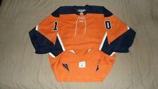 New York Islanders Orange Alternate #10 CCM PRO Fight Strap NHL Hockey Jersey 52