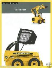 Equipment Brochure - John Deere - 240 - Skid Steer - Loader - c2002 (E2648)