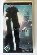 Sony PSP Square Enix Final Fantasy Crisis Core Complete german version