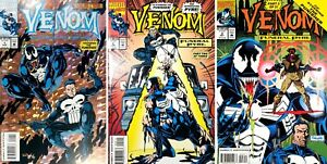 VENOM FUNERAL PYRE #1 - #3 (1993) Marvel Comics (Set of 3)